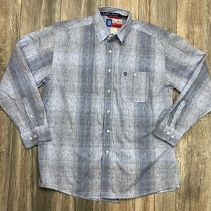 Cowboy Cut Collection Wrangler button down